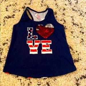 3/$12 Love shirt 🇺🇸